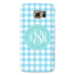 Samsung Phone Case - Gingham Sky