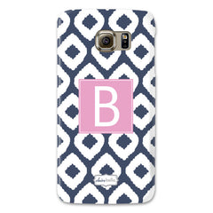 Samsung Phone Case - Ikat Navy
