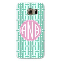 Samsung Phone Case - Maze Mint