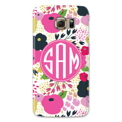 Samsung Phone Case - Meadow Pink