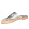 Gunmetal Sandals Side