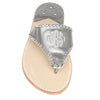 Monogram Gunmetal Sandals