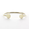 gold plate sorority bangle