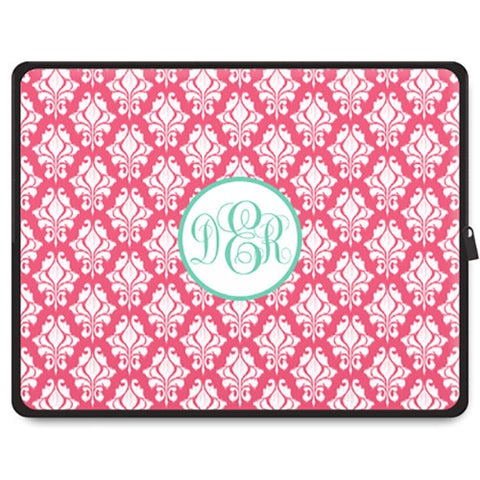 Monogram Tablet Sleeve - iKat Damask