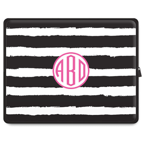Monogram Tablet Sleeve - Stripe