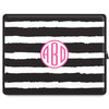 Stripe Tablet Sleeve - Black