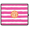 Stripe Tablet Sleeve - Hot Pink