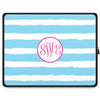 Stripe Tablet Sleeve - Sky