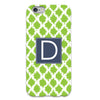 Lime Tie Dye iPhone Case