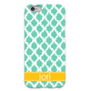 Mint Tie Dye iPhone Case
