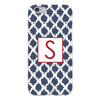 Navy Tie Dye iPhone Case