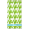 Clams Beach Towel - Lime