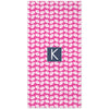 Clams Beach Towel - Hot Pink