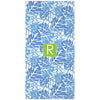 Palms Beach Towel - Blue