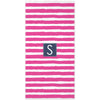 Stripe Beach Towel - Hot Pink