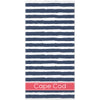 Stripe Beach Towel - Navy