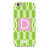 Lime Trellis iPhone Case
