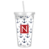 Anchor Tumbler - Navy