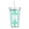Basketweave Tumbler - MInt