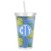 Pineapple Tumbler - Cornflower