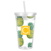 Pineapple Tumbler - White