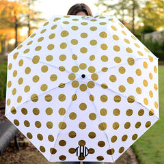 Mnogram Umbrella -Gold