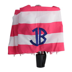 Pink Monogram Umbrella