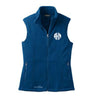 Blue Monogram Fleece Vest