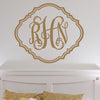 Vintage Monogram Decal