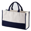 Vivera Monogram Tote Bag - Navy