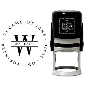 Personalized Wallace Self Inking Stamper