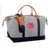 Monogram Weekender Tote Bag - Choose Color