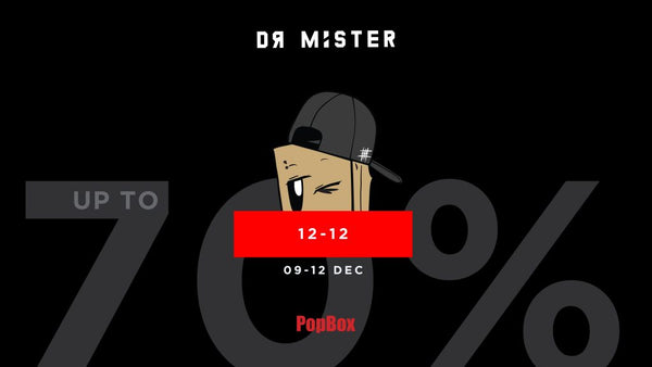 Get 12% off Dr Mister online store by using Popbox
