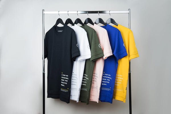 "December Drop 2 ""Self-Reflection"" Layered T-shirt is available now in 6 different colors"