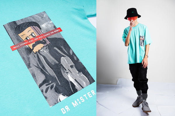 "J2 - ""The Famed Unknown"" Music Oversized T-shirt"