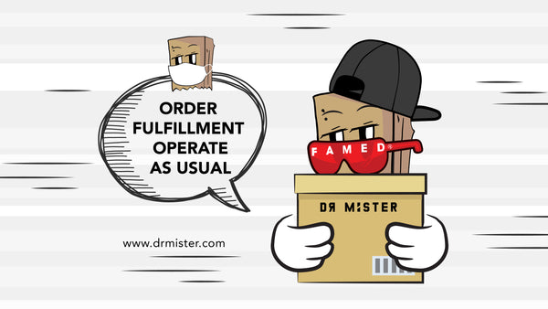 Movement Control Order - Online Order Fulfillment Operates as Usual