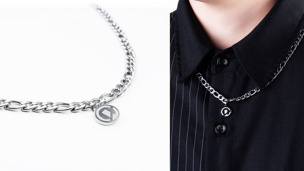 "S21 - ""Essential"" Figaro Chain Necklace 6MM"