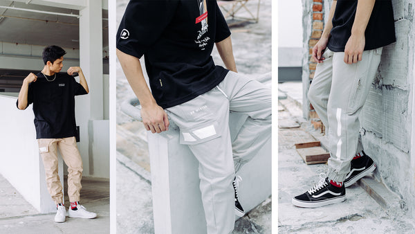 D0 Essential Collection - Introducing Cargo Jogger Pant & Scallop Layer Oversized T-shirt
