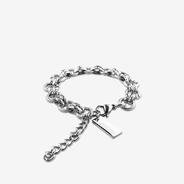 """Essential"" Glitz Chain Bracelet 11mm - Silver"