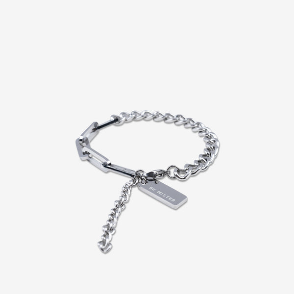 """Essential"" Hybrid Chain Bracelet 5mm - Silver"
