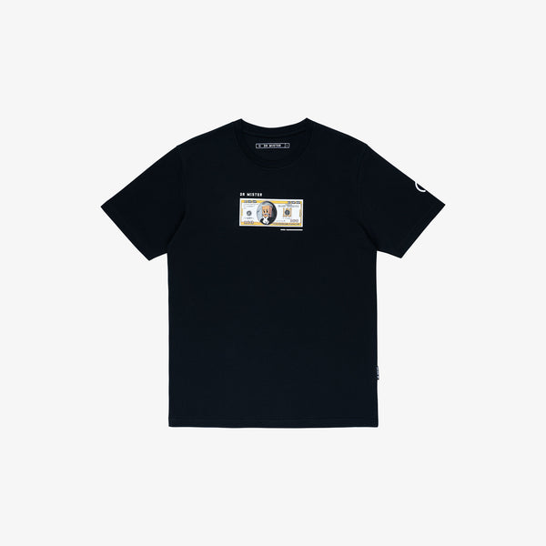 """The Famed Unknown"" Dollar T-shirt - Black"