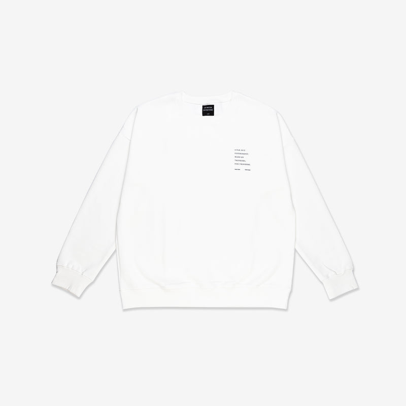 """Essential"" Cosy Dropped Sweatshirt - Cream"