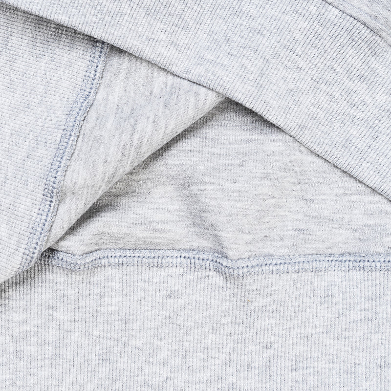 """Essential"" Cosy Dropped Sweatshirt - Melange Grey"