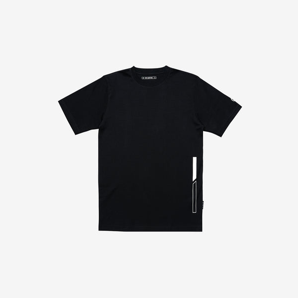 """Essential"" D0 Basic T-shirt - Black"