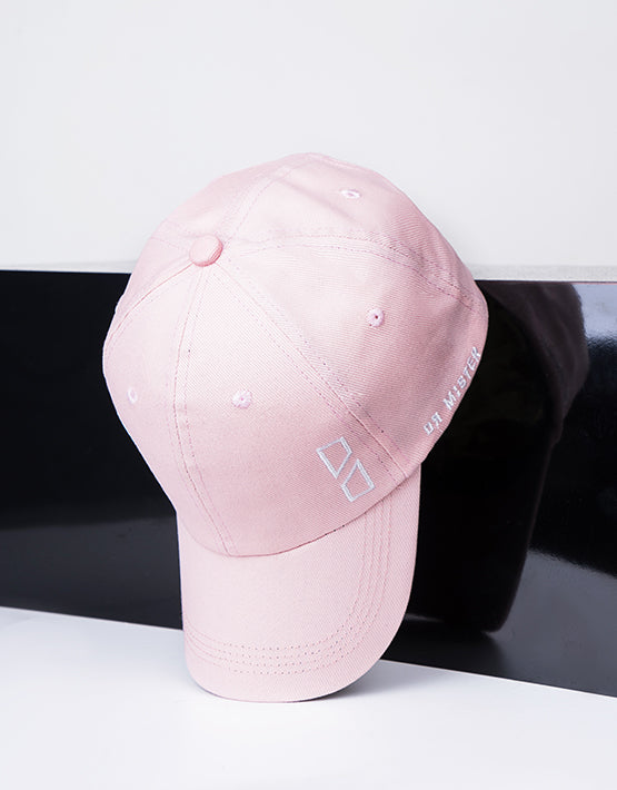 """Essential"" Outline Logo Cap Beige Pink"
