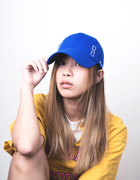 """Essential"" Outline Logo Cap Blue"