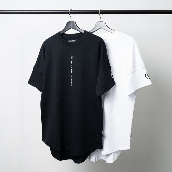 """Essential"" DS Scallop T-shirt - White"