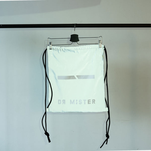 """Essential"" Reflective Drawstring Bag  15"" x  17"""