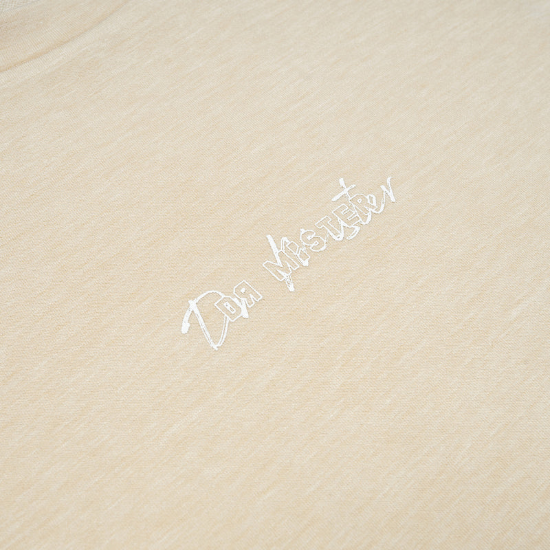 """Essential"" Thoughts Heavy T-shirt - Melange Beige (Limited)"