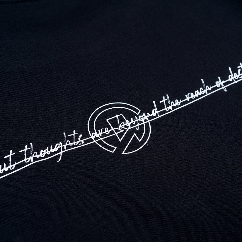 """Essential"" Thoughts Remain T-shirt -  Black"